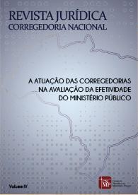 Revista Jurídica: Corregedoria Nacional - Volume IV