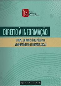 Direito à informação: o papel do Ministério Público e a importância do controle social